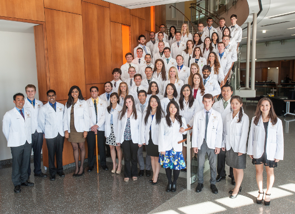 USMLE Step 1 scores for WMed's inaugural Class of 2018